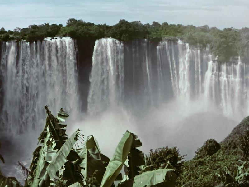 le cascate dell'Angola
