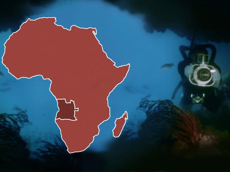 Copertina del documentario Angola sotto l'Oceano