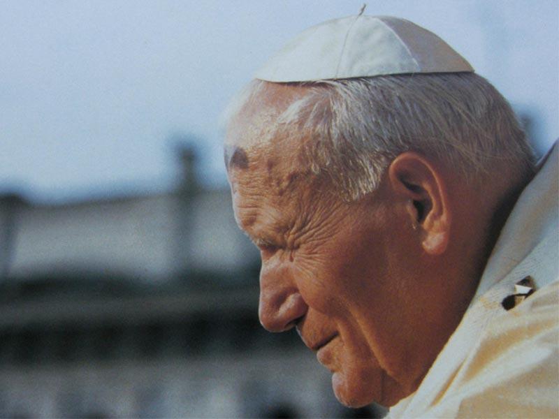 Papa Giovanni Paolo II in Veneto
