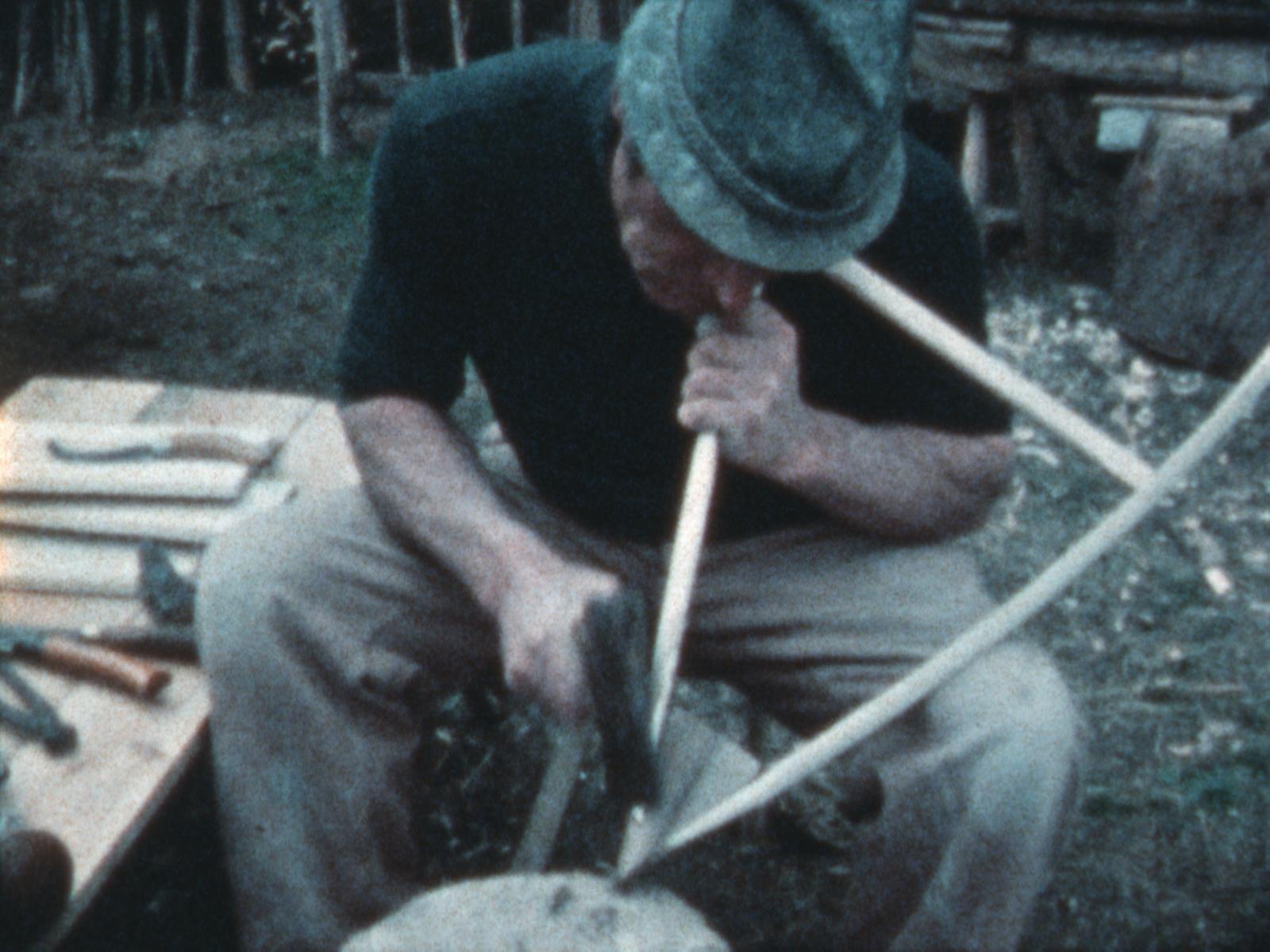 antichi mestieri lavorazione legno Archivio Cinematografico e Televisivo