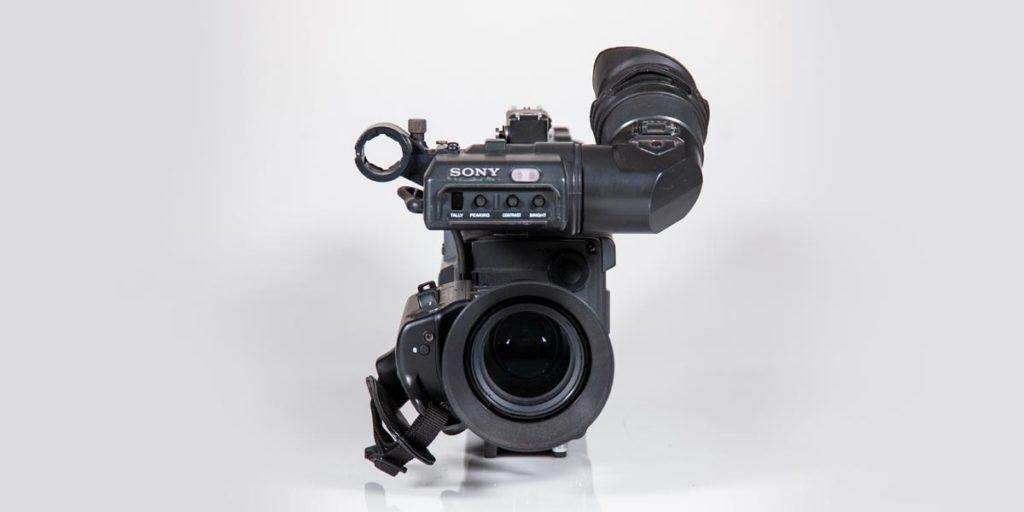 SONY-DXC-327-frontale recupero apparecchiature