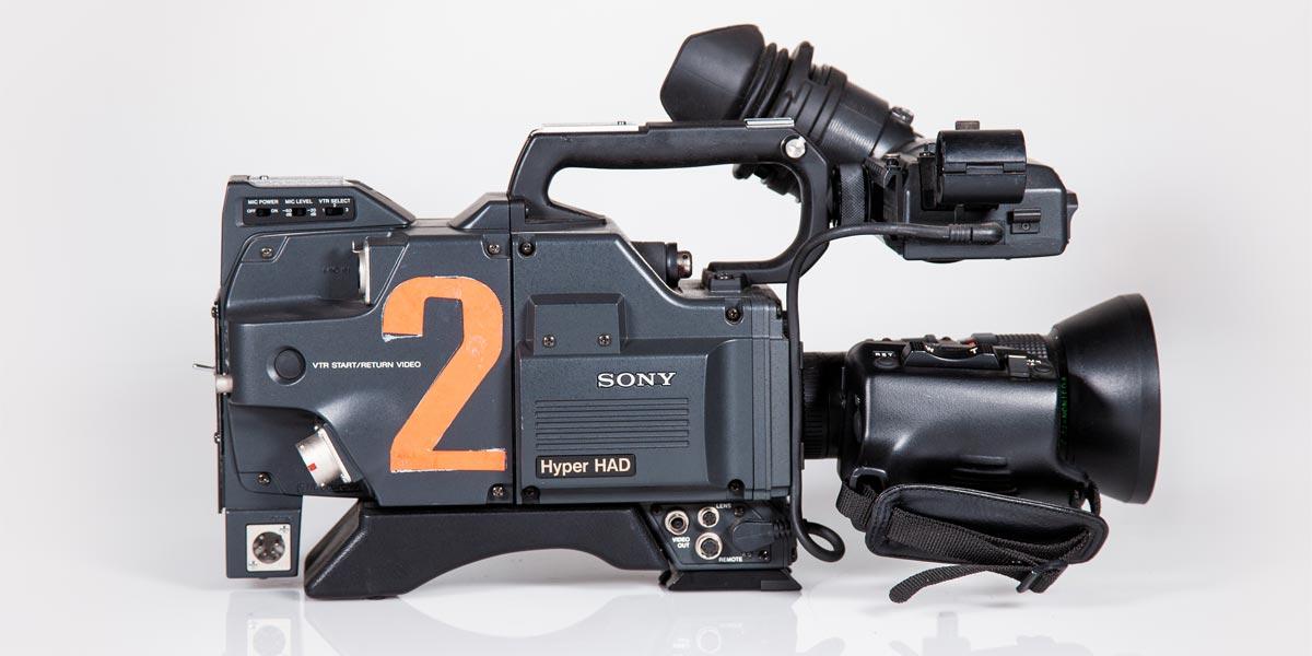 SONY-DXC-327-lato-B recupero apparecchiature