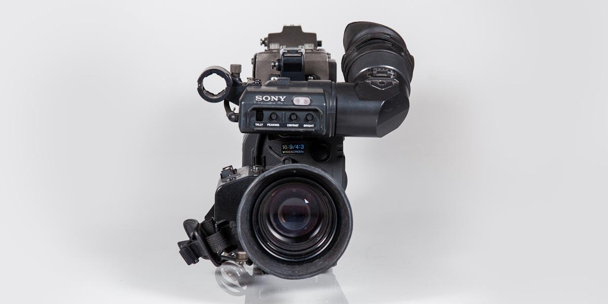 SONY-DXC-637-frontale recupero apparecchiature