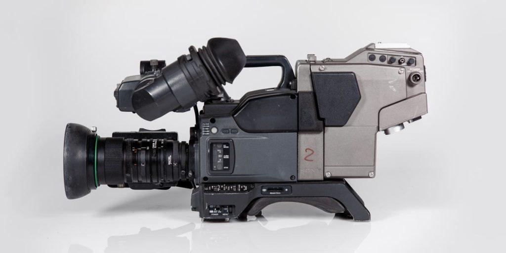 SONY-DXC-637-lato-A recupero apparecchiature