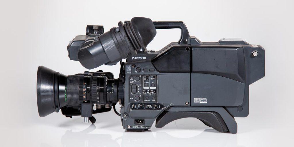 SONY-DXC-D35-lato-A recupero apparecchiature