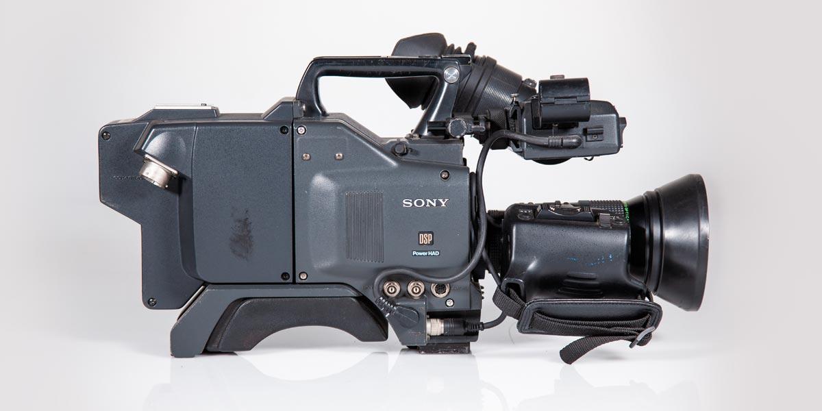 SONY-DXC-D35-lato-B recupero apparecchiature
