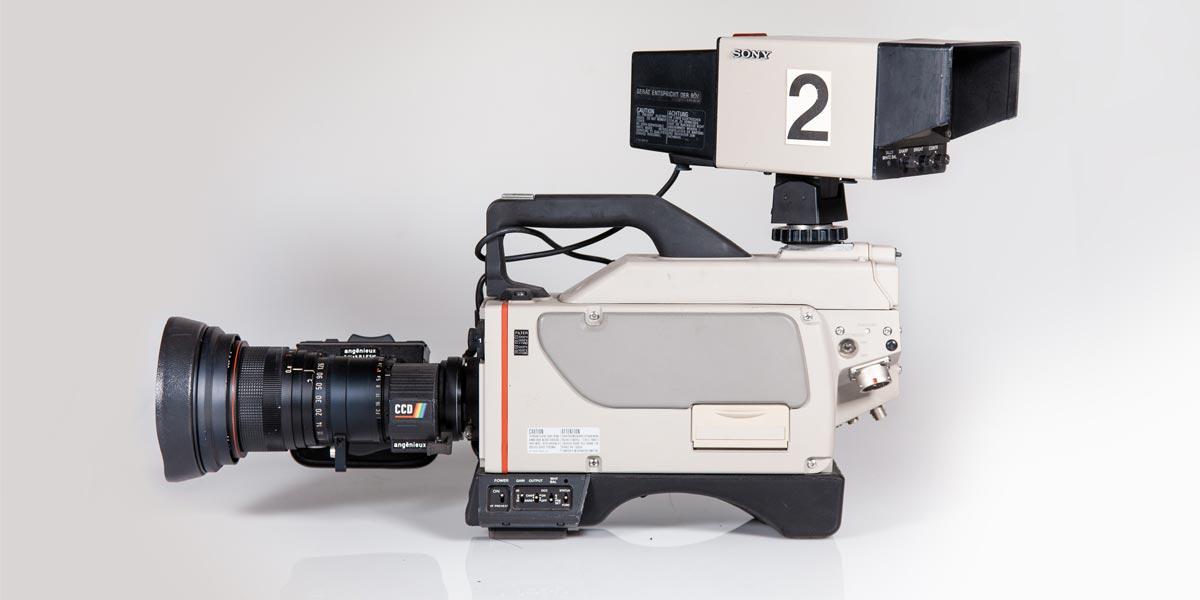 SONY DXC M7P recupero apparecchiature