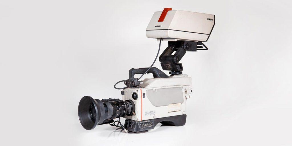 SONY-DXC-M7P-lato-a recupero apparecchiature