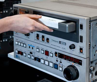 Acquisizione videocassette