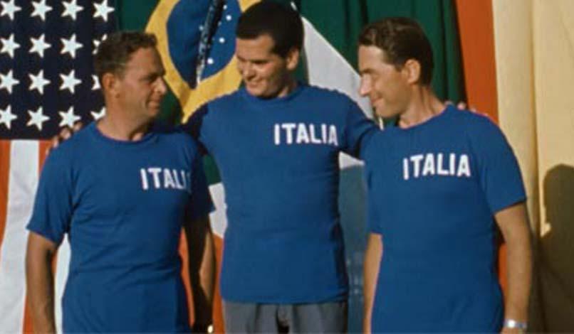 olimpiade in blu