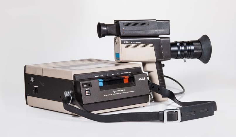 AKAI VT 300 + Telecamera VC300