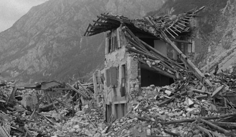Terremoto del Friuli 6 maggio 1976 – 15 settembre 1976